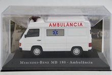 IXO Altaya 1:43 Scale Merc des B z MB 180 Ambulancia Toys Car Diecast Models Limited Edition Collection(China)