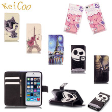 Art Print Relief Cases For Samsung Galaxy Core Prime SM-G361F PU Leather Covers SM-G360F Book Flip Wallet Full Housing Man Women(China)