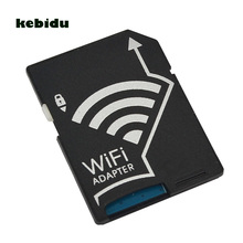 kebidu Wifi SD Card Adapter Micro SD MicroSD TF Converter for SONY Canon Nikon Cameras Photos Wirelessly to Phone Tablets