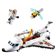 Buy GUDI City Aviation Aircraft Launch Center Spacecraft Building Blocks Sets Bricks Model Kids Toys Children Compatible Legoings for $16.00 in AliExpress store