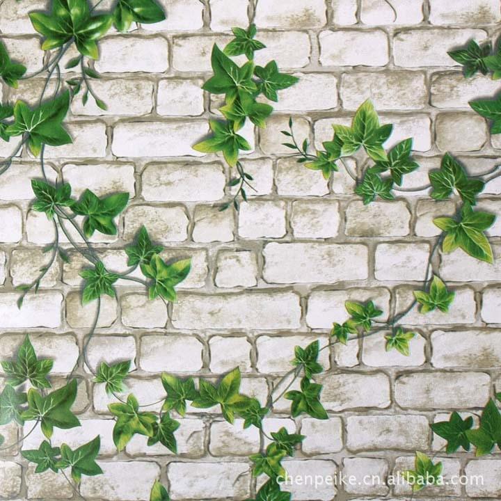 Modern 3d Wallpaper Roll Pvc Wallpaper Brick 0.45m*10m Wallpaper For Walls Self Adhesive Wall Paper Brick Wallpaper Grey Brick<br>