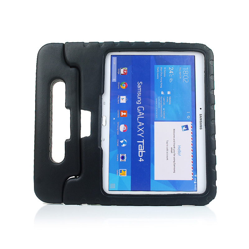 Durable EVA Kids Handle Cover Thick Foam Shock Proof Soft Stand Case For Samsung Tab 4 10.1 Tablet T530 free shipping<br><br>Aliexpress