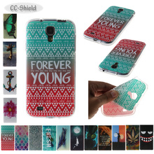 TPU Soft Case for Samsung Galaxy S4 S 4 GalaxyS4 GT I9500 I9505 I9506 I9515 GT-I9500 GT-I9505 GT-I9506 Painting IMD phone case(China)