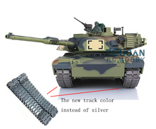 HengLong 1/16 Scale Camo Green USA M1A2 Abrams Upgraded Metal Ver RTR RC Tank 3918(China)