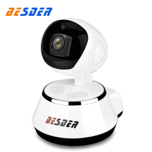 BESDER 720P Wifi Ip Pan/ Tilt Camera HD 1.0MP Wired Wireless Two Way Audio Security IP CCTV Camera Support SD Card Up To 32GB