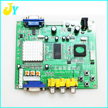 5pcs Arcade game RGB CGA EGA YUV to VGA HD video converter board HD9800 GBS8200/ Video Conversion Board