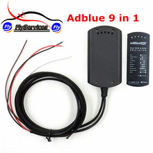 New Released Adblue 9 IN 1 Works 9 Brand Trucks Diagnostic Interface Ad-Blue Supports EURO 4&5 Ad Blue Emulation Add For CUMMINS(China)