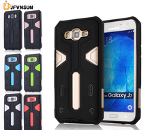 J7 2016 J7 2015 NEW Hybrid TPU+PC Hard Armor Case For Samsung Galaxy J7 J710 J700 Plastic Rubber Dustproof plug Phone Back Cover