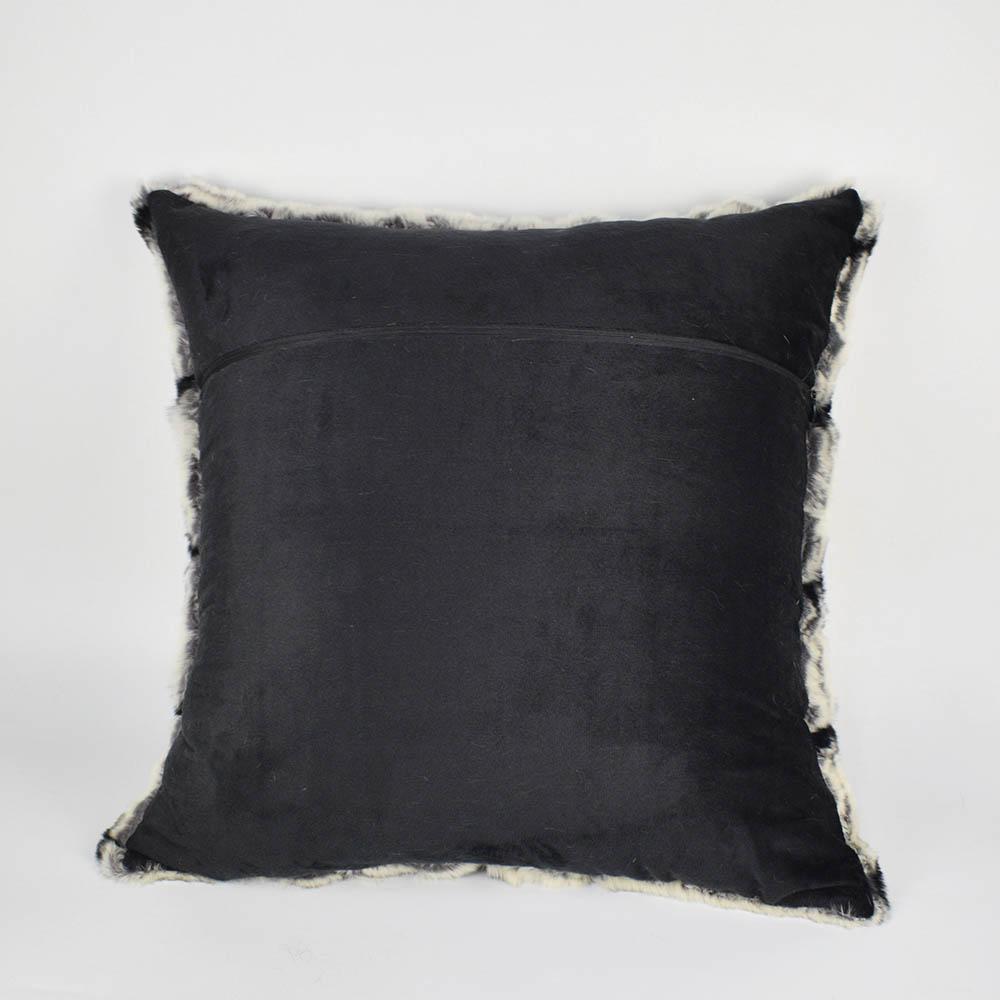 rex rabbit fur pillow 5