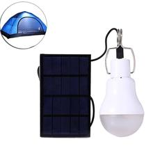 S-1200 15W 130LM Portable LED Bulb Garden Solar Powered Light Charged Solar Energy Ideal Lamp Camping Tent Fishing Lamp Hot
