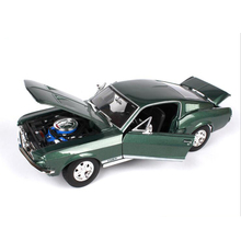 1/18 1967 forde Mustangn toy alloy car high simulation scale die cast model Diecasts&Vehicles metal car(China)