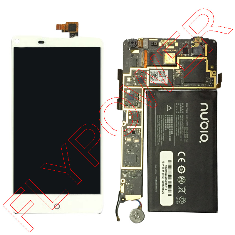 100% New white LCD Screen Display + Touch Digitizer For ZTE Nubia Z5 NX501 Assembly by free shipping<br><br>Aliexpress