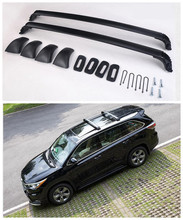For Toyota Highlander 2015.2016.2017 Auto Cross racks Roof Rack High Quality Brand New Aluminium Luggage Rack Car Accessorie