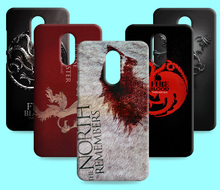 Ice and Fire Cover Relief Shell For Xiaomi Redmi Note 2 4 Cool Game of Thrones Phone Cases For Red rice Redmi Pro
