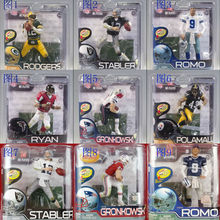 Animation Garage Kid Collection Baby Toys: McFarlane Action Figure PVC Dolls NFL FOOTBALL PLAYER SERIES 29 Good Model Best Gifts