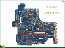High Quality MB A1945016A For Sony Vaio SVF152 Laptop Motherboard SVF152 I5-3337U Non-integrated DDR3 100% Tested(China)