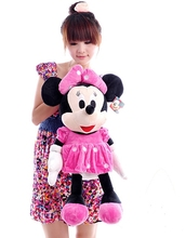 about 65 cm Minnie plush toy lovely mouse doll throw pillow, girlfriend gift b4328