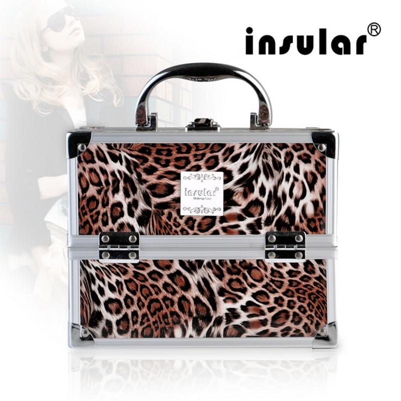 High Quality Shipping Free  Aluminum Makeup  Cases Makeup Box Cosmetic Case Makeup Bag<br>