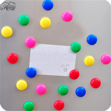 10Pcs Useful Colorful Round Blackboard Whiteboard Fridge Magnetic Sticker Office School Blackboard Teaching Magnetic Sticker