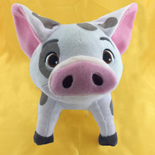 20cm Movie Moana Pet Pig Pua Plush Toy Cute Pepa Cartoon Animal Stuffed Dolls(China)