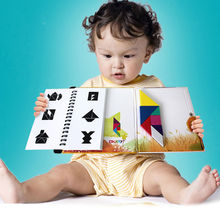 New Puzzles Magnetic Tangram Kids Toys Challenge Your Iq A Montessori Educational Magic Book Jigsaw For 2-100 Years Old