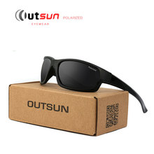OUTSUN 2017 Hot Fashion Out Door Sun Glasses HD Polarized Sunglasses Men Brand Designer Original Oculos De Sol Masculino