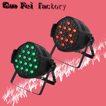 2lot Par light led 54x3 waterproof par 54 led rgbw led par 64