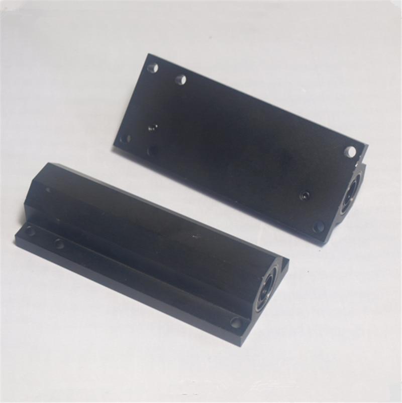2 pcs*Lulzbot TAZ 3D printer upgrade metal aluminum alloy Z axis double bearing holder kit lu10uu baring<br><br>Aliexpress