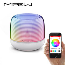 PLAYBULB Smart Remote Candle USB Charge Candle Holders Timer RGB Changeable Light Color Flameless LED(China)