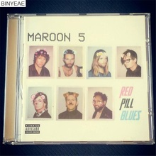 BINYEAE- New CD Seal: MAROON 5 - Red Pill Blues 2017 - Albums CD light disk [free shipping](China)