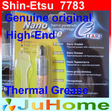 New Genuine Original Shin-Etsu 7783 >6.0W/m.K, high-end containing silver thermal paste for Graphics / CPU thermal grease 1.2ml(China)