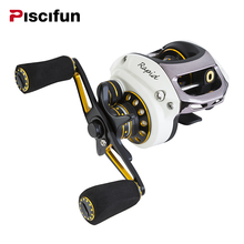 Piscifun Rapid Right Left Hand Baitcasting Reel 10BB 6.5:1 193g Bait Casting Fishing Reel Baitcaster 147.3(China)