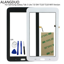 ALANGDUO For Samsung Galaxy Tab 3 Lite 7.0 SM-T110 T110 Wifi Version Touch Screen Digitizer Assembly Touchscreen Panel Display