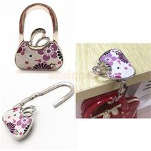 Butterfly Folding Handbag Hanger Clothes Hook Travel Bag Tote Safer Holder