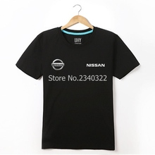 Nissan T-shirt 4S shop summer short-sleeved men and women tooling car club clothes logo customer T shirts