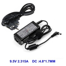 Laptop AC Adapter Charger 9.5V 2.315A For Asus Eee PC 700 701 SDX 900 2G 4G surf 8G Netbook Mini Notebook Power With AC Cable