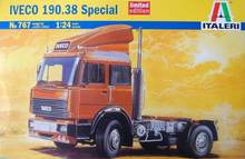 Out of print product! ITALERI Iveco 190.38 Special Ltd 767 1:24 Model Kit Trucks