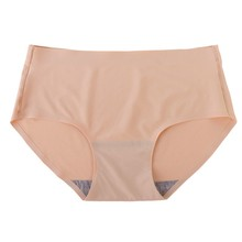 Buy Womens Sexy Seamless Plain Underwear Briefs Lingerie Panties Knickers Ropa Interior Mujer