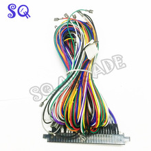 Wholesale 5Pcs lot standard 28pin Jamma Wire Harness for Arcade Game board Accessories with 5 6_220x220 harness board accessories promotion shop for promotional harness wire harness board accessories at gsmx.co