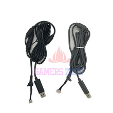 Black Grey 4Pin Wired Controller Interface Cable For Xbox 360 USB Breakaway Cable Lead Cord Adapter(China)