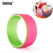 ITSTYLE Yoga Circle Yoga Wheel ABS Pilates Magic Circle Ring Gym Workout Back Training Tool Home Slimming Fitness Pilate Ring