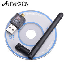Mini 150Mbps USB WiFi Wireless Adapter Network Lan Card  Portable Wifi Receiver Adaptador with 2DB Antenna IEEE802.11n/g/b