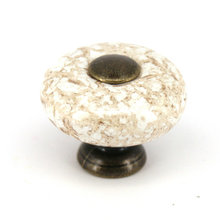 European ceramic chest knobs 32mm porcelain marble wardrobe door pull handle cabinet furniture drawer knobs
