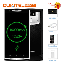 "Oukitel K10000 Pro MT6750T Octa Core Android 7.0 3G RAM 32G ROM 5.5"" FHD 10000mAh 12V/2A Quick Charge Fingerprint ID Smartphone"