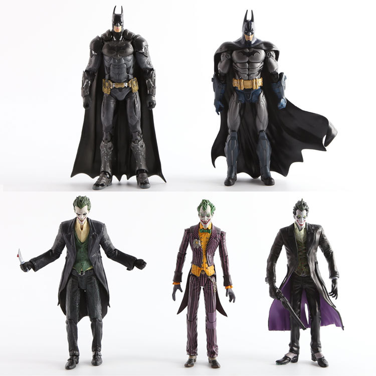DC Comics Model Batman Joker Clown 7inch Do Toy Doll Model Action Figures Toys for Gifts<br><br>Aliexpress