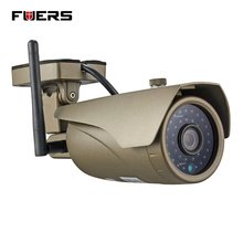 Fuers Adjustable focus Real-time 1.0Megapixel 720P waterproof Outdoor Indoor Wireless HD IP Camera WIFI,P2P,Onvif,Audio Camera