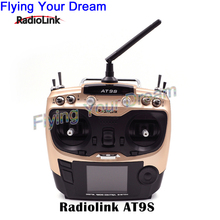 Radiolink AT9S 2.4G 10CH System Transmitter with R9DS Receiver AT9 Remote Control update vision for quadcopter Helicopter