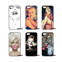 For Xiaomi Redmi Note 2 3 3S 4 Pro Mi3 Mi4i Mi4C Mi5S MAX iPod Touch 4 5 6 Fashion Marilyn Monroe With Bubble Gum Phone Case