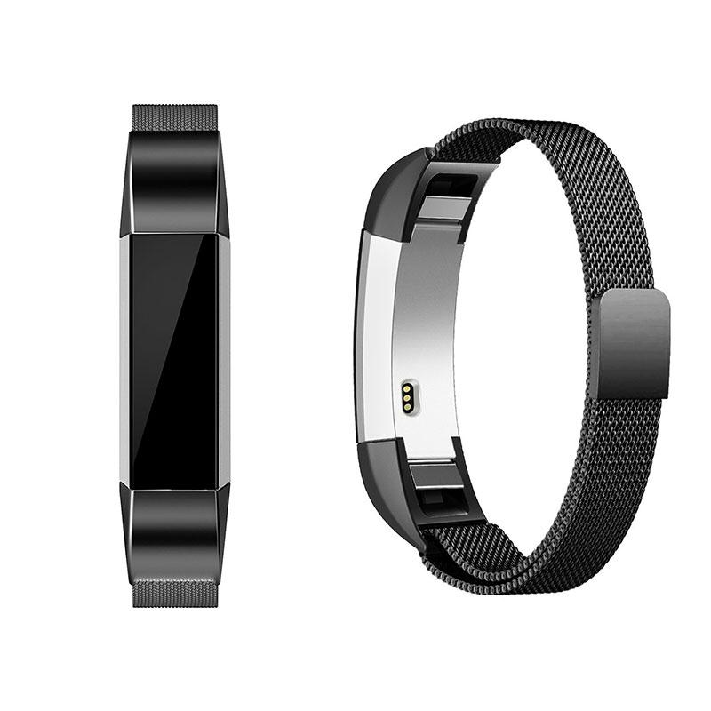 Amzdeal Fashion Metal High Quality Replacement Strap Wrist Band Belt for Fitbit Alta Bracelet HR Monitor Smart Watch Accessories 3