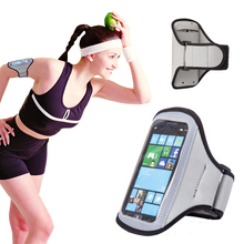 Haissky Universal Sport Arm band Case For Samsung Galaxy S3 S2 Moto G Exercise Running Pouch For iphone 5 5S 5C SE 4 4S Cover